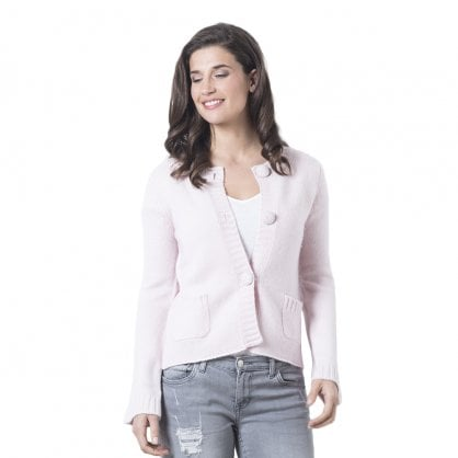 "3-button cashmere jacket ""Stephanie"""