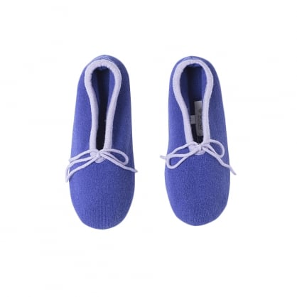 "Ballerina cashmere slippers ""Sierra"""