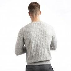 "CARLU de Monaco Cable round-neck sweater ""Coby"""
