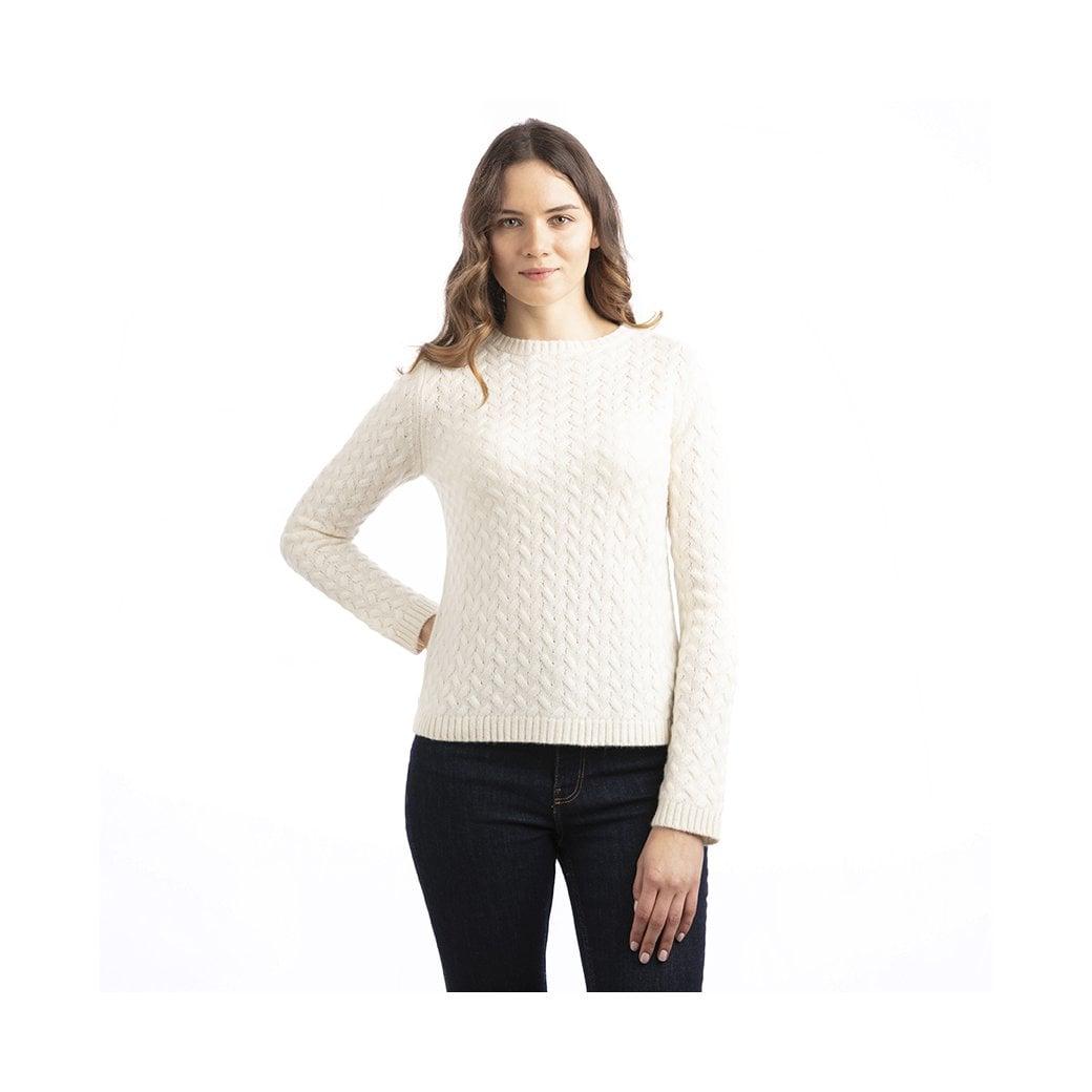 """CARLU de Monaco Cable sweater """"Joanna"""""""