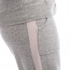 "CARLU de Monaco Cashmere trousers with stripes ""Jennifer"""