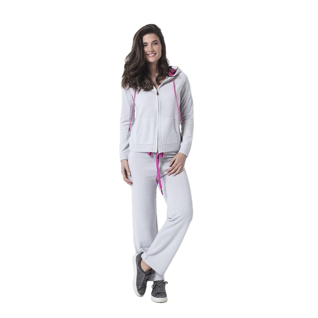 "CARLU de Monaco Casual cashmere trousers ""Diana"""