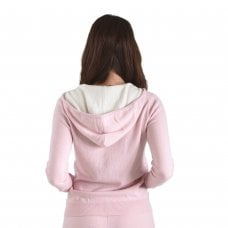 "CARLU de Monaco Casual hooded cashmere jacket with contrast ""Beatrice"""