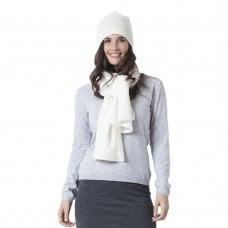 "CARLU de Monaco Knitted cashmere scarf ""Fiona"""