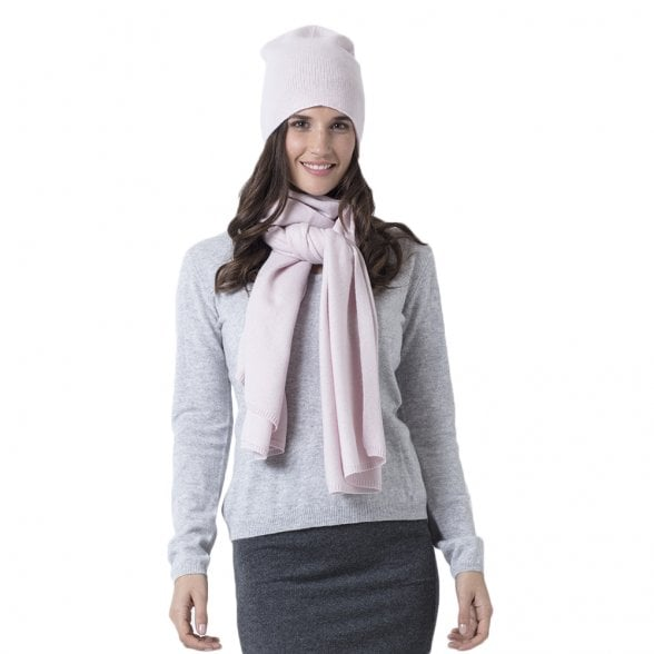 "Knitted cashmere scarf ""Fiona"""