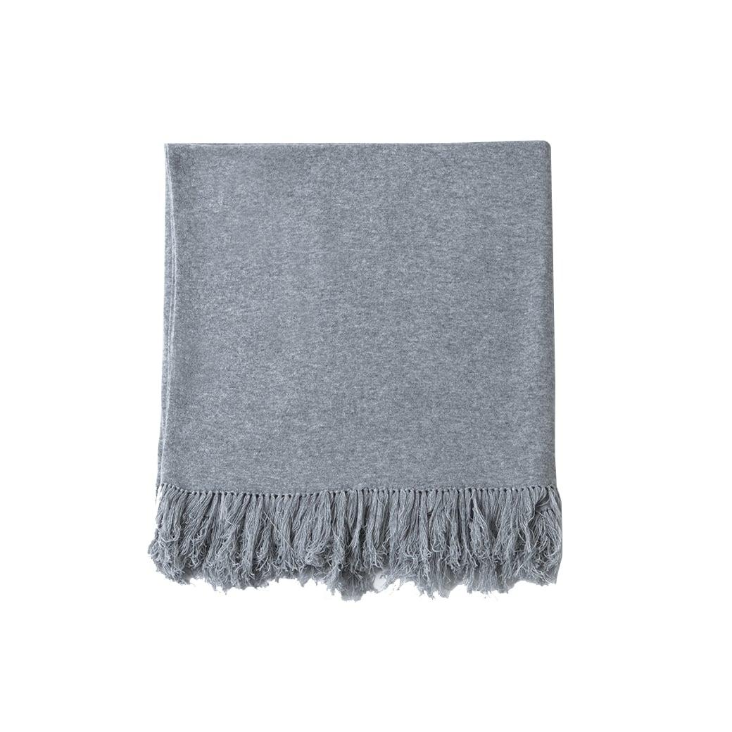 CARLU de Monaco Plain cashmere blanket - 160cm X 100cm
