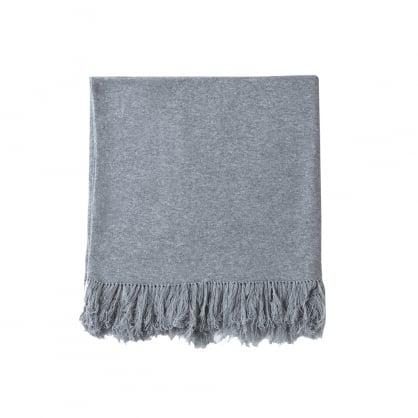 Plain cashmere blanket - 160cm X 100cm