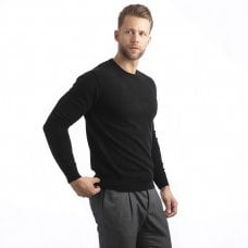 "CARLU de Monaco Round-neck cashmere pullover ""Galahad"""