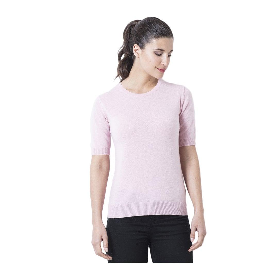 """CARLU de Monaco Round neck cashmere T-shirt """"Isadora"""""""