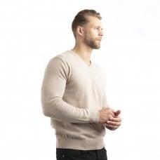 "CARLU de Monaco V-neck cashmere pullover ""Lancelot"""