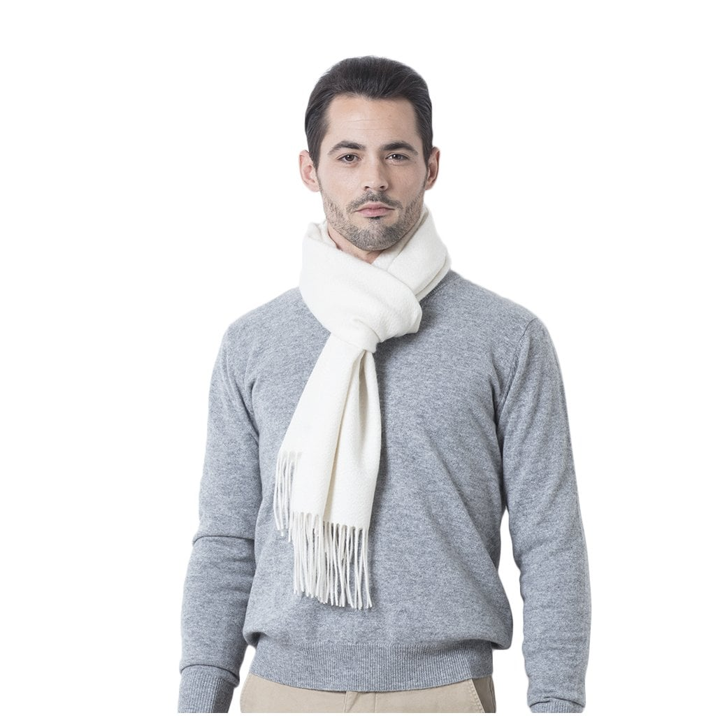 "CARLU de Monaco Woven cashmere scarf ""Kennedy"""