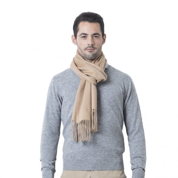 "Woven cashmere scarf ""Kennedy"""