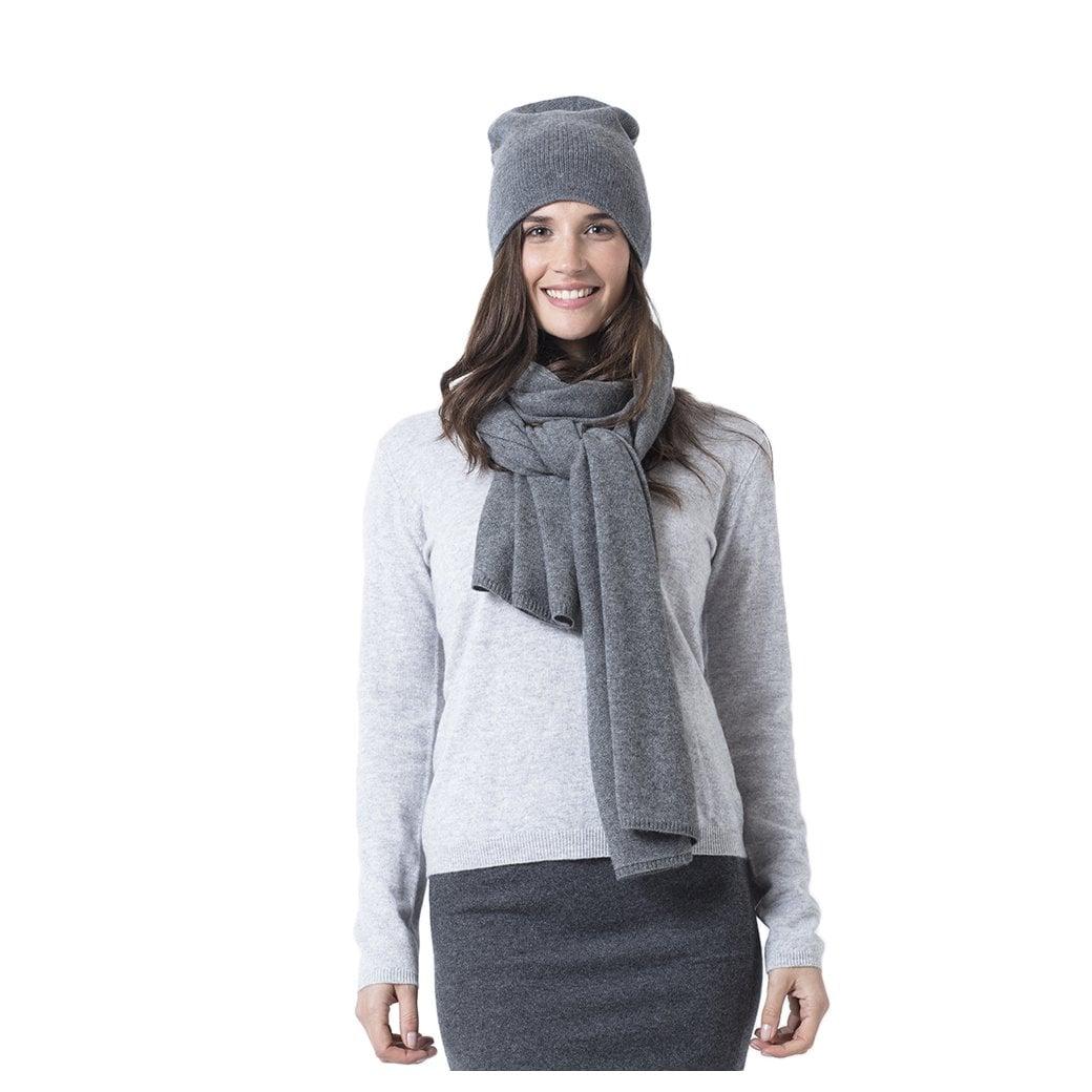 "CARLU de Monaco Plain cashmere hat ""Josephine"""