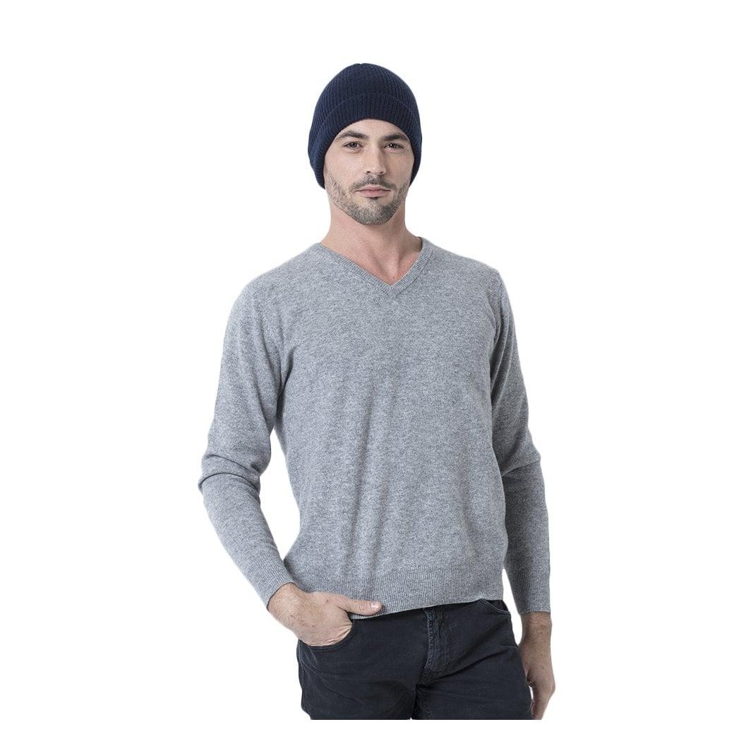 "CARLU de Monaco Rib knitted cashmere hat ""Charlie"""